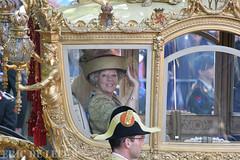 den Haag - Prinsjesdag 10 2007-09-18 Koningin Beatrix