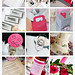 Hot Pink & Silver Real Wedding Details Inspiration Board
