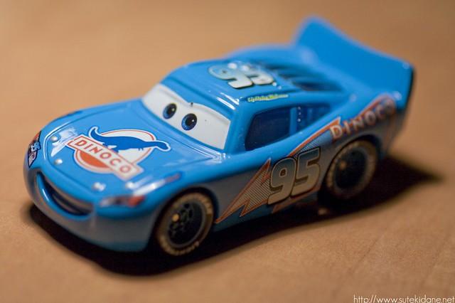 Pixar : Flash McQueen Dinocco