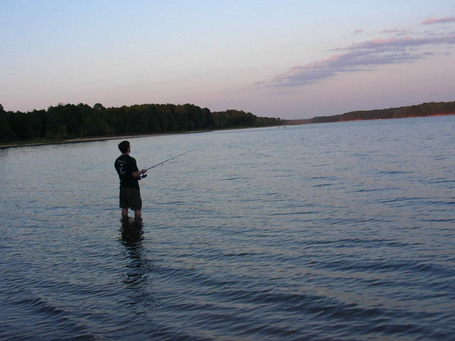 Marc fishing on jordan lake flickr photo sharing for Jordan lake nc fishing