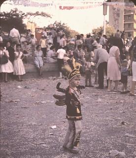 Carnaval, Plaza Altamira 1960