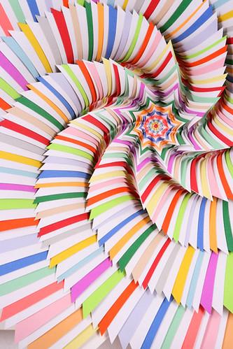 """Jen Stark """"CandyLand"""" (Detail)"""