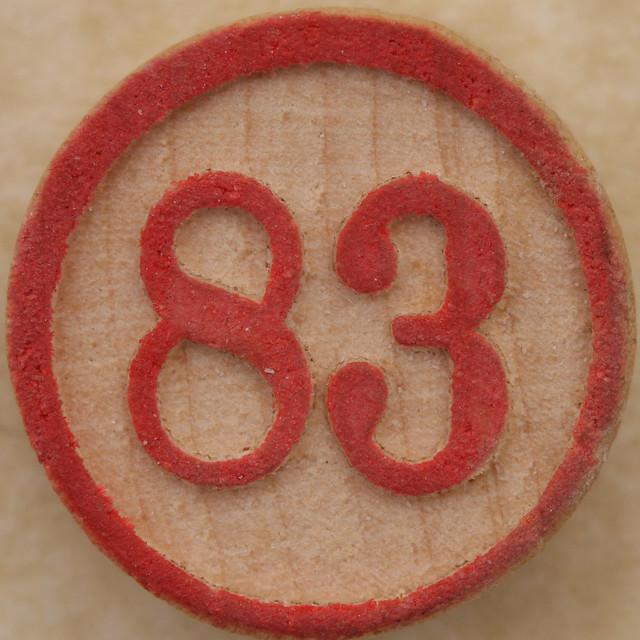 Bingo Number 83