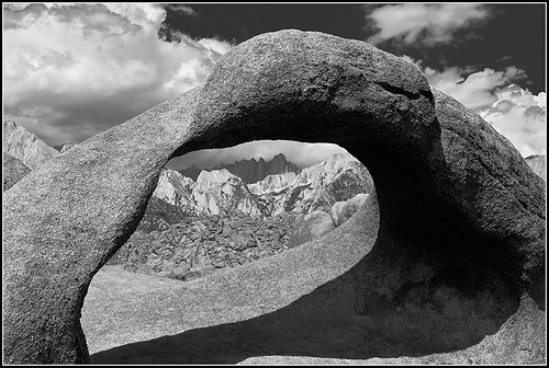 Mount Whitney Through Mobius Arch, Alabama Hills, II