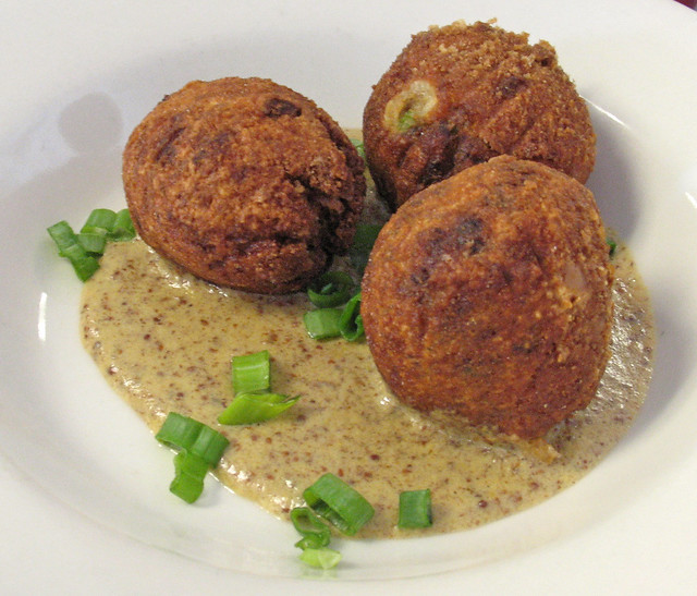 Boudin Balls in Creole Mustard Sauce | Flickr - Photo Sharing!