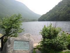 Memorial Plaque at Profile Lake