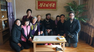 North Korean Family on New Year's Day