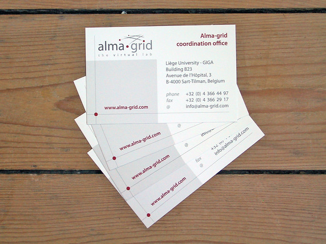 Business Cards Alma Grid Project