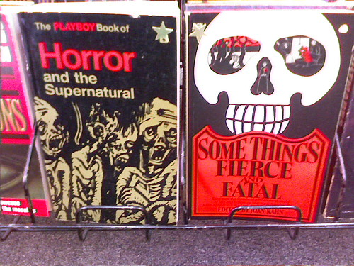 Lurid vintage horror paperbacks, 11/17/07 by photophonic