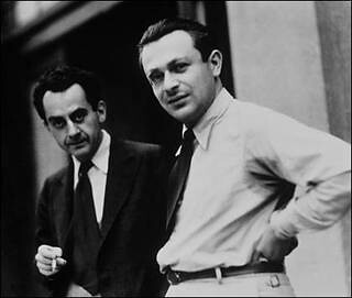 Man Ray and Tristan Tzara