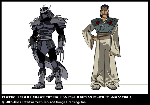 2K3 Shredder // Oroku Saki  [[ Courtesy 4kids TMNT Blog ]]