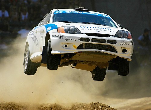 X Games Rally Car Racing