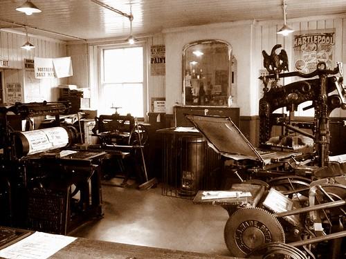 Print Room Beamish