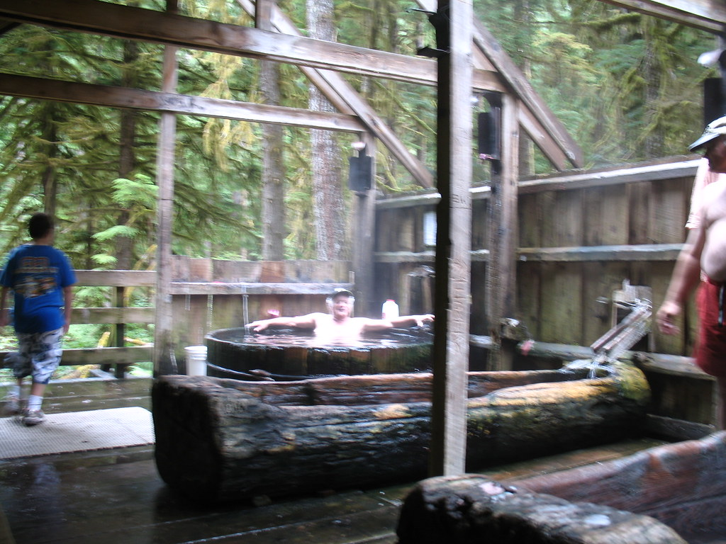 Bagby Hot Springs | After a seventy mile drive on back roads… | Flickr