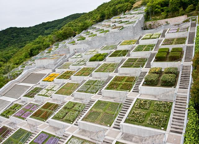 Tadao ando awaji yumebutai flickr photo sharing for Architecture de jardin