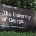 University of Georgia - Athens, GA