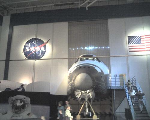 at nasa's johnson space center