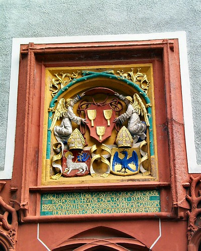 Wappen königlicher Person in der Domstadt Meissen 0022