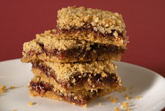Oatmeal Raspberry Bars
