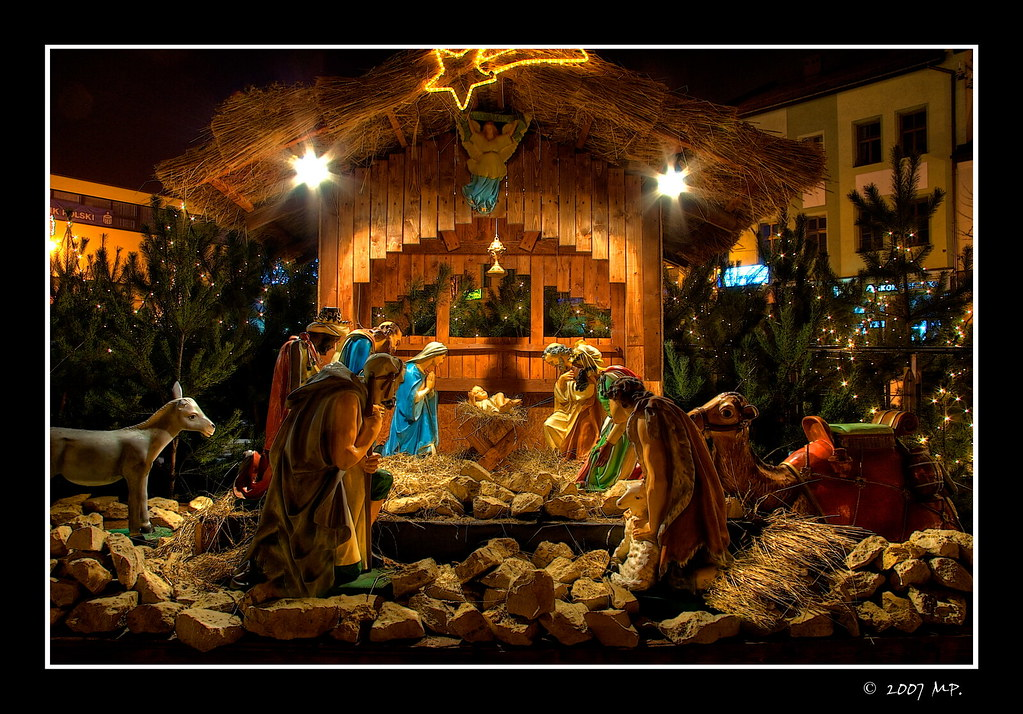 Nativity scene in my Town by Mariusz Petelicki / © All rights ...