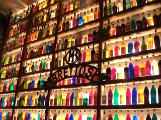 wall of liqueur