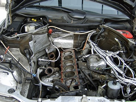 mercedes m104 engine flickr photo