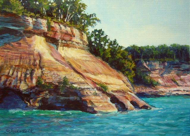 Sandstone Cliff, Panasonic DMC-LC50