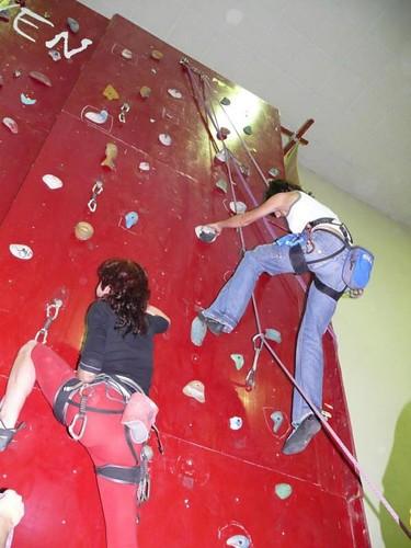 escalada y rocódromo