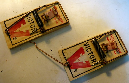 Photo of Mousetraps by Flickr user