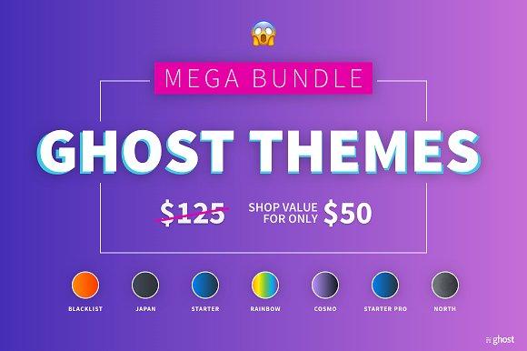 CreativeMarket - Ghost Themes Mega Bundle