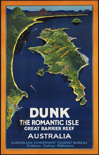 Dunk the romantic isle. Great Barrier Reef Australia