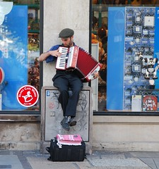 art, street artist, blue, street, infrastructure,