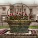 Basket of flowers, Weston-super-Mare