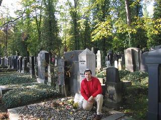 Imagen de Franz Kafka cerca de Hlavní město Praha. cemetery geotagged pablo praha literature franz jewish kafka franzkafka literatura geotagging