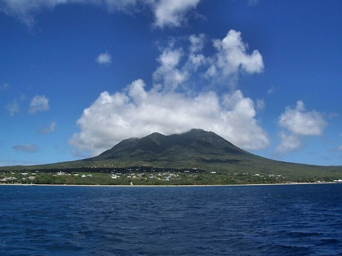 Sailing to Nevis