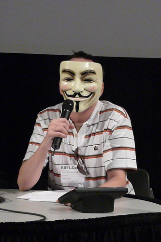 Anonymous Sources Get A Microphone (photo: splat, flickr)