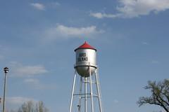 Bird Island water tower