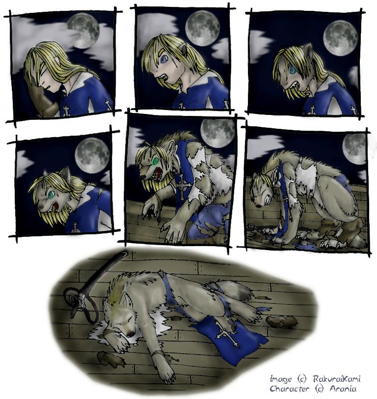 Werewolf Anime Transformation Anime Werewolf