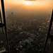 Sunset from the Shard by JerryBones