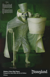 "Disneyland Haunted Mansion ""Hatbox Ghost"" Big Figure 