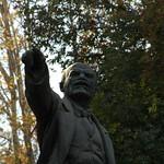 Lenin Statue - Dushanbe, Tajikistan