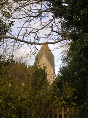 Hawkley church tower