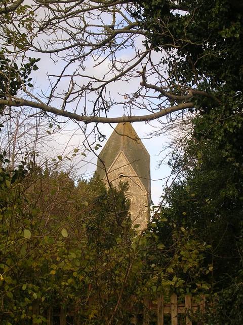 Hawkley church tower
