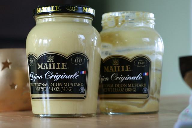 "French Mustard ""Avant-Après"""