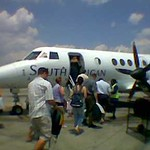 Boarding SAA flight SA8140 to Margate @ Johannesburg Airport approx 1pm 20 February 2006