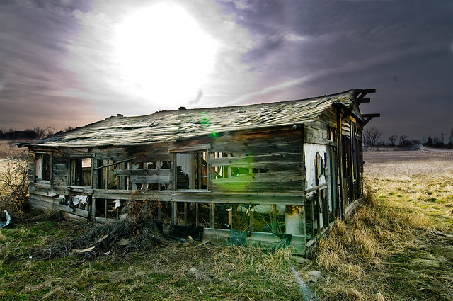 Broken Down House Flickr Photo Sharing