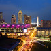 Singapore skyline: Marina Square & Suntec City