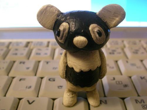 ネガパンダ(デザイン・フェスタで買ったもの) Nega Panda @ Design Festa Souvenir