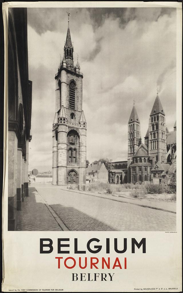 Belgium. Tournai. Belfry