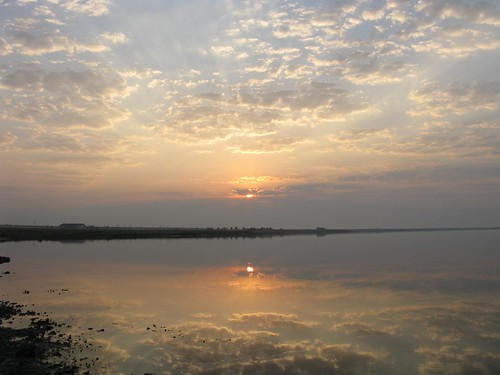 sky sun reflection nature water clouds sunrise day cloudy nwn